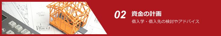 02 資金の計画 借入学・借入先の検討やアドバイス